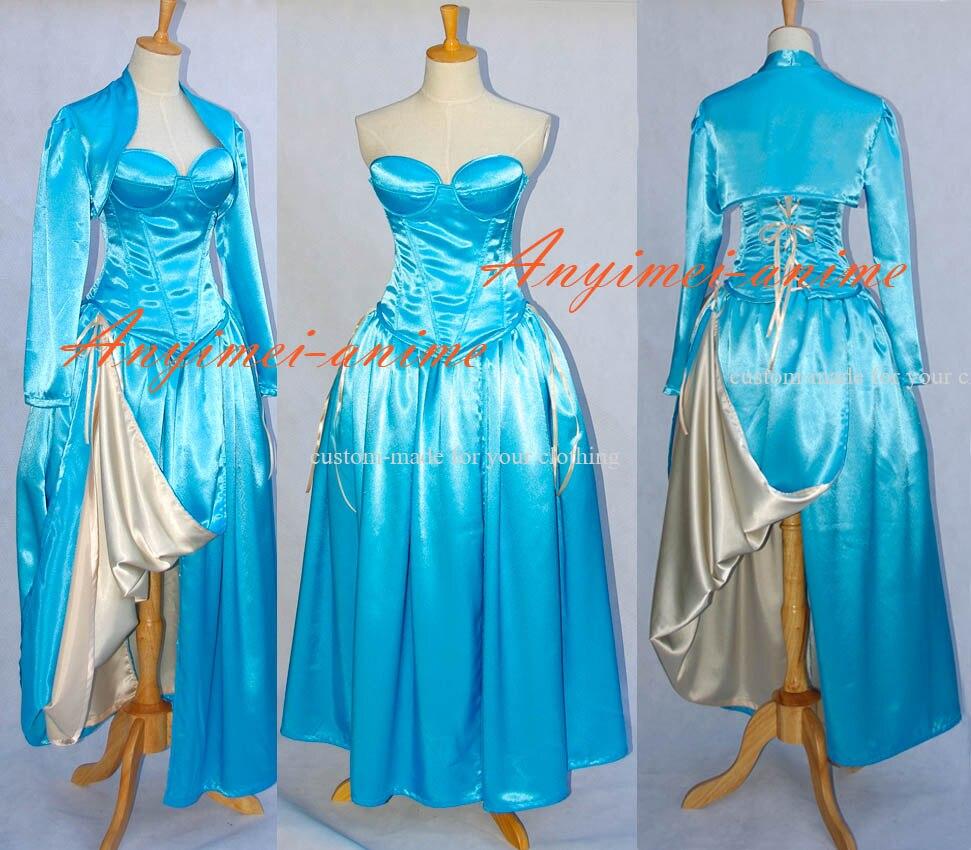 Costume de robe médiévale sur mesure femmes adultes robe gothique costume d'halloween l'histoire du costume O