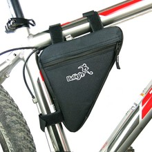 Bike Bag Front Tube Frame Cycling Bicycle Bags Phone Waterproof MTB Road Pouch Triangle Holder Saddle Bike Accessories waterproof mtb road bike front tube bag 6 inch phone touch screen saddle bag pu bike cycling beam saddle bag bike accessories