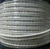 180 светодиодный/м SMD 2835 Светодиодная лента 110 в 120 В двухрядные светодиодные ленты веревочная лента для украшения дома сада