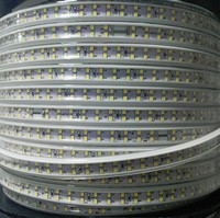 180led/m SMD 2835 LED Strip light 110V 120V Double Row LED tape rope ribbon for Home Garden Decoration