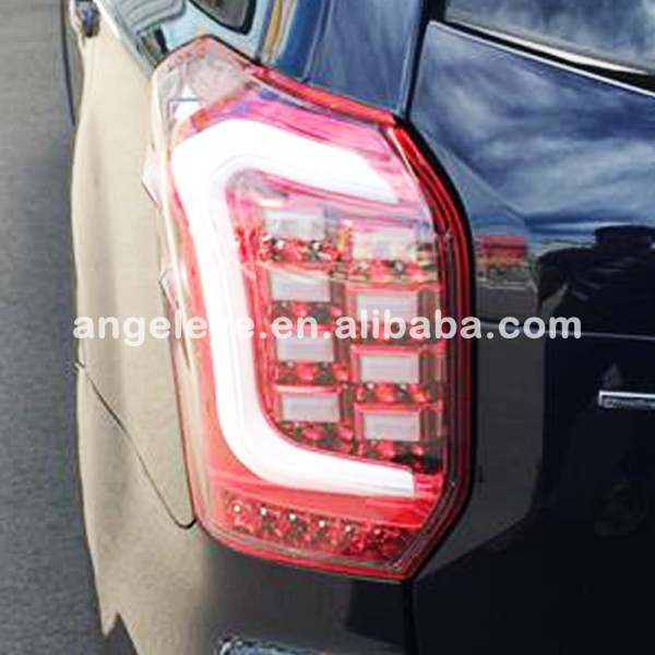 For Subaru Forester LED Rear lights Tail lamp Red White Color 2013 2015 year TW