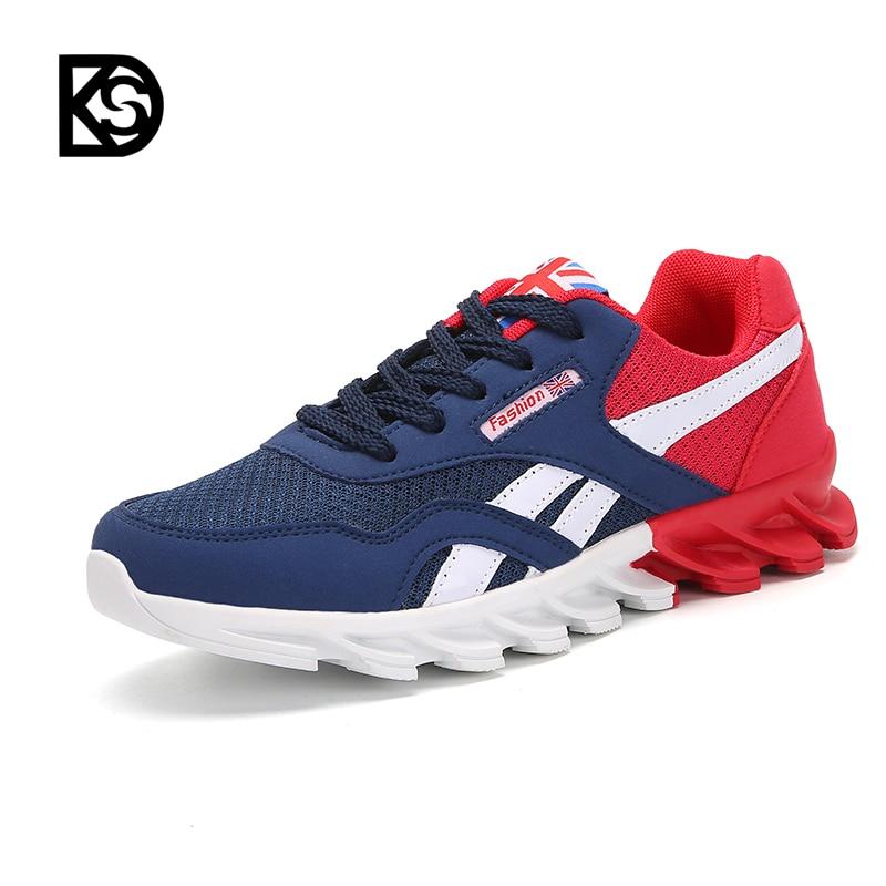 Ksd Grande Taille Hommes Chaussures De Course Confortable Sport Mâle