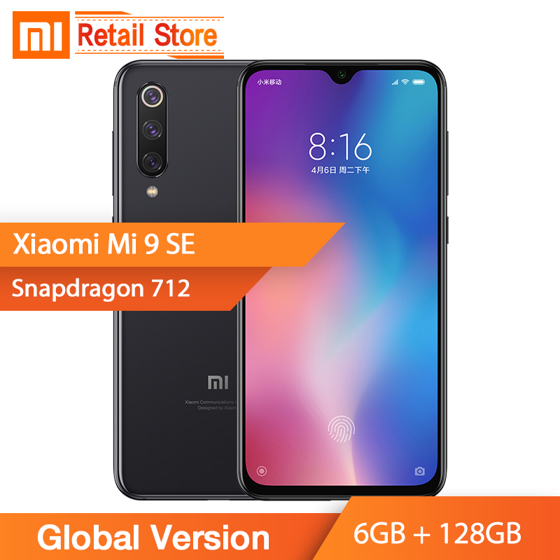 "Global Version Xiaomi Mi 9 SE Mi9 SE Smartphone Snapdragon 712 Octa Core 6GB 128GB 5.97"" AMOLED FHD Display 48MP Triple Camera-in Cellphones from Cellphones & Telecommunications    1"
