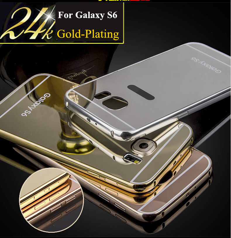 samsung s6 edge cases gold