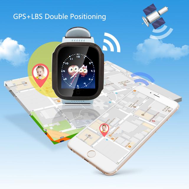 Q528 Y21 Q42 GPS Children Smart Watch With Camera Flashlight Baby Watch SOS Call Location Device Tracker Kid Safe vs Q750 Q100