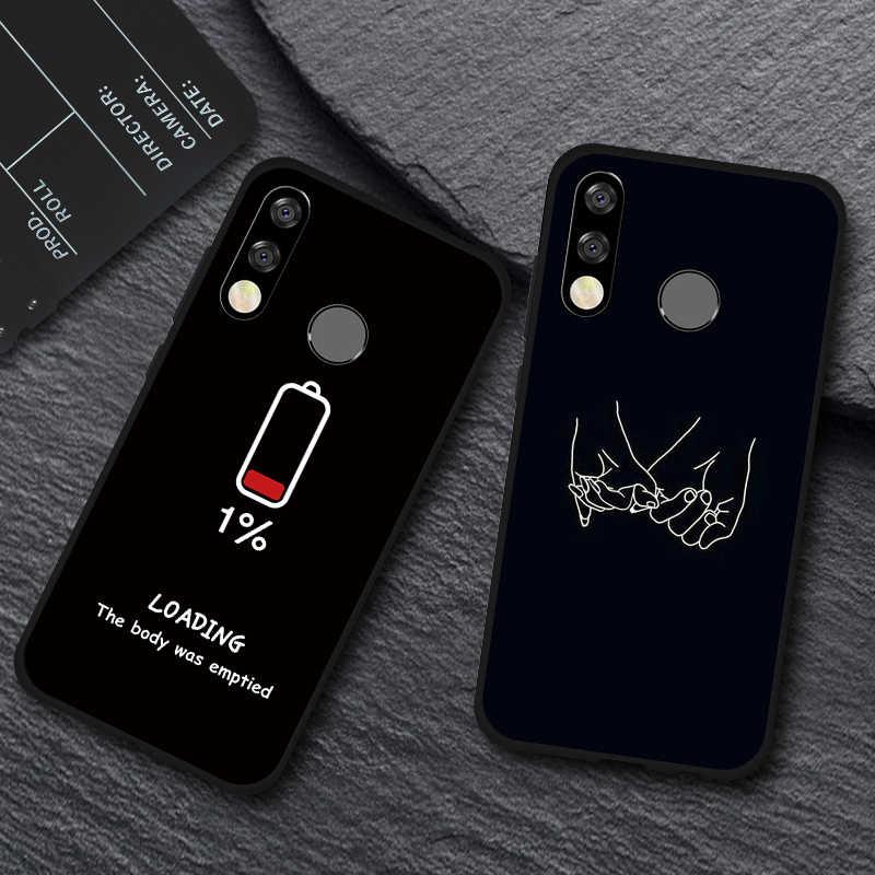 เคสโทรศัพท์สำหรับ Huawei Y7 Y5 Y6 Prime 2018 Y9 Y6 Y7 Pro 2019 น่ารักรูปแบบซิลิโคน TPU สำหรับ huawei Nova 4 3 3i 2i Fundas