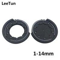 LeeTun 1 14mm Inner Diameter Metal Zoom Iris Diaphragm Aperture Condenser For Camera Optical CCTV Lens