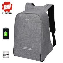 2017 tigernu diebstahl design männer 15,6 zoll laptop rucksack frauen rucksack mochila schultaschen für jugendliche casual laptop tasche