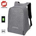 2017 tigernu antirrobo diseño hombres 15.6 pulgadas portátil mochila mochila mujeres mochila mochilas escolares para adolescentes bolsa de ordenador portátil informal bolsa