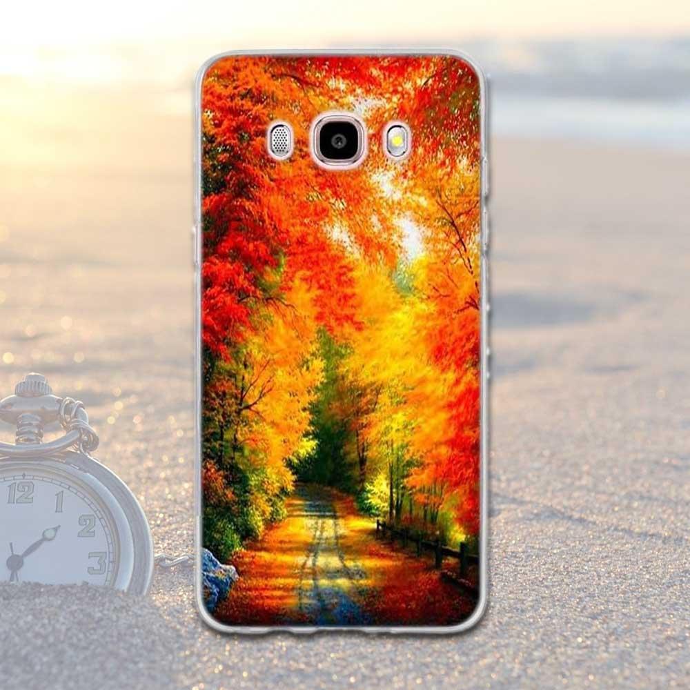 Mjukt TPU-tryckt fodral för Samsung Galaxy J5 2016 J510 J510F - Reservdelar och tillbehör för mobiltelefoner - Foto 4