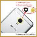 Оригинальный Камеры Стекло Для Meizu MX4 MX5 Pro 5 Pro 6 M2 M3 м3 М2 Примечание M3 Примечание Задняя Камера Стеклянный Объектив С Наклейкой Клей Ahesive