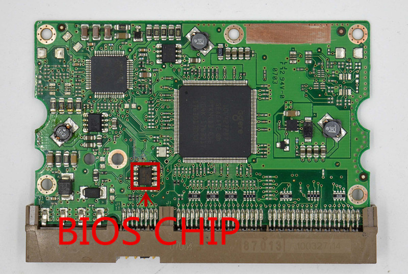 HDD PCB for Seagate/Logic Board/Board Number: 100406538 REV A