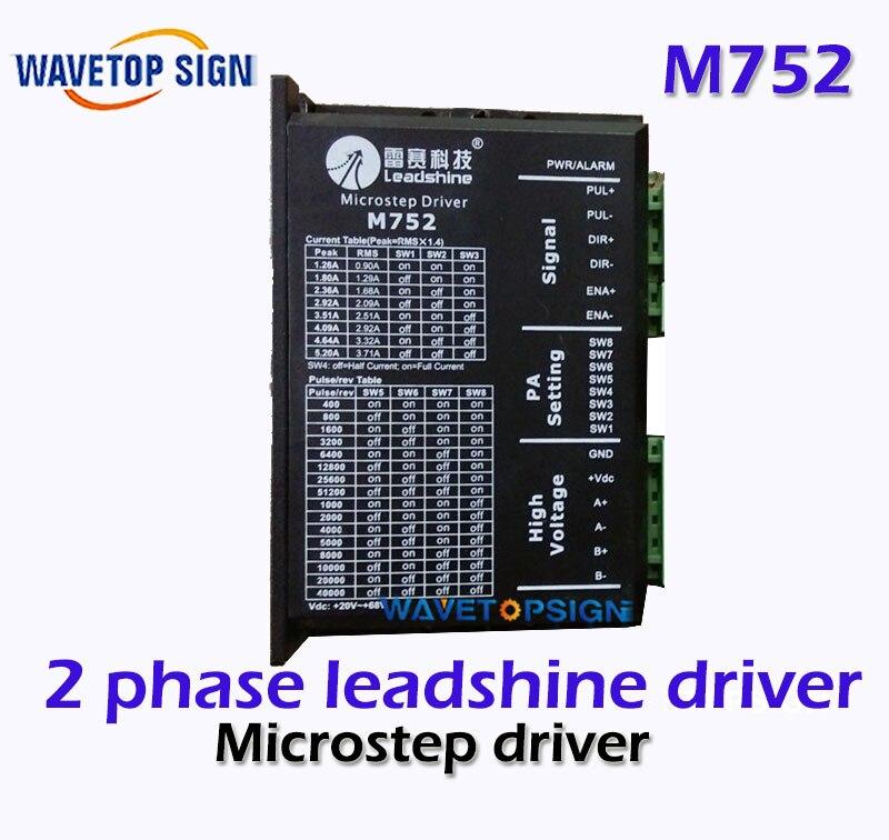 2 phase Leadshine M752 driver for stepper motor 24-70VDC