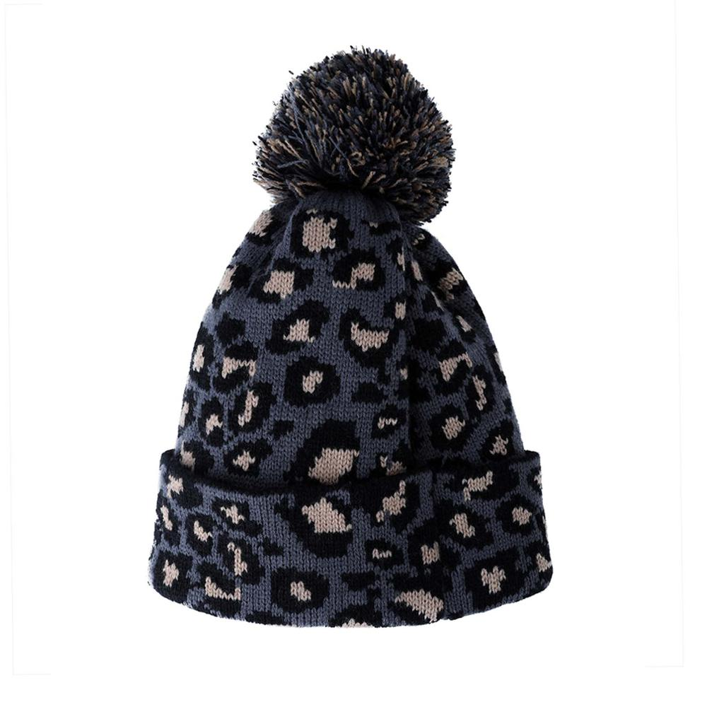 7268bc92c3f3f Dropwow New Fashion Women Beanie Hat Leopard women Cap Spring Autumn ...