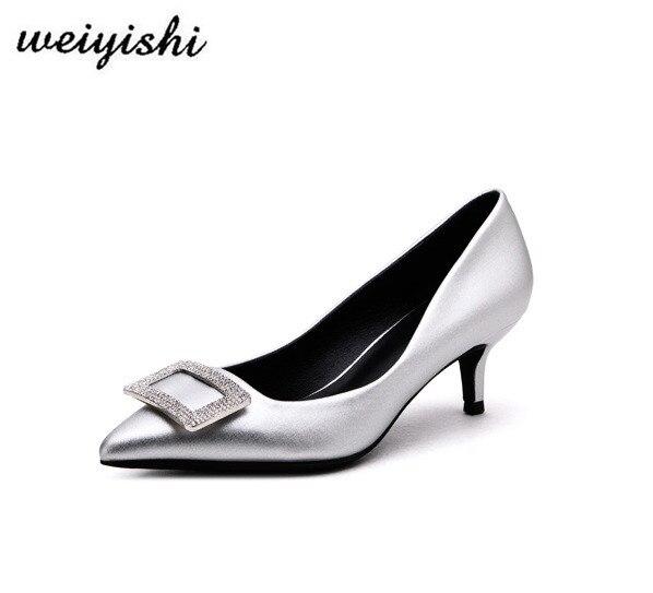 Chaussures Dame 017 2018 Mode Nouveau Marque Femmes Chaussures Weiyishi qwnItT6PIW