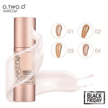 O.TWO.O  Foundation Beauty Make Up Waterproof Flawless Coverage Base Professional Fluid Cosmetics Liquid Foundation