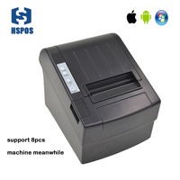 Low cost android bluetooth thermal printer price in india support cash drawer divice receipt printer paper for restaurant