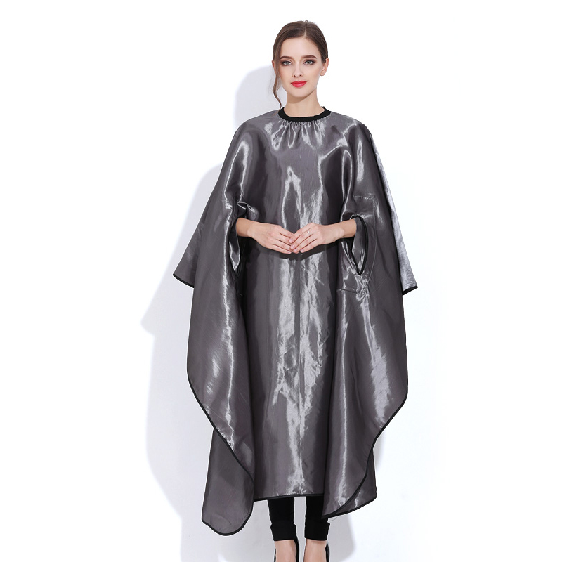 Special Hide Sleeves Design Salon Cape Hairdressing Apron Waterproof Hair Cloth Hair Dye Perm Gown For Hair Barber Tools UN816