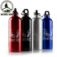 NaturalHome Brand 750ML Stainless Steel Bike Water Bottle Outdoor Bicycle Bike Sports Bottles MTB Cycling