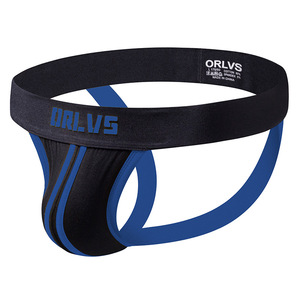 Image 5 - 3pcs/lot ORLVS Brand Men Jockstraps  underwear  Men underwear penis pouch Push UP men thong string homme tanga hombre