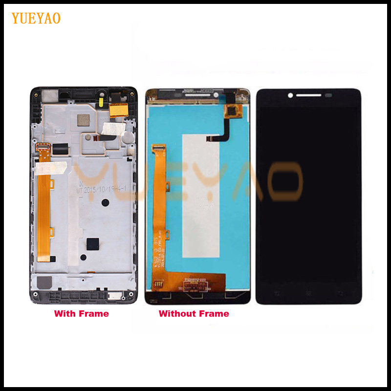 YUEYAO For Lenovo A6000 LCD Display + Touch Screen Replacement Digitizer Assembly For Lenovo K30 A 6000 Replace Repair Part