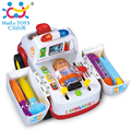 Juguete kit médico ambulancia ambulancia coche con luces y música eléctrica coche de plástico de aprendizaje y educación toys niños mejores regalos