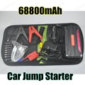 Free shipping 2016 hot sell Car jump starter Car booster Car power bank   multi function super power 66800 mAh