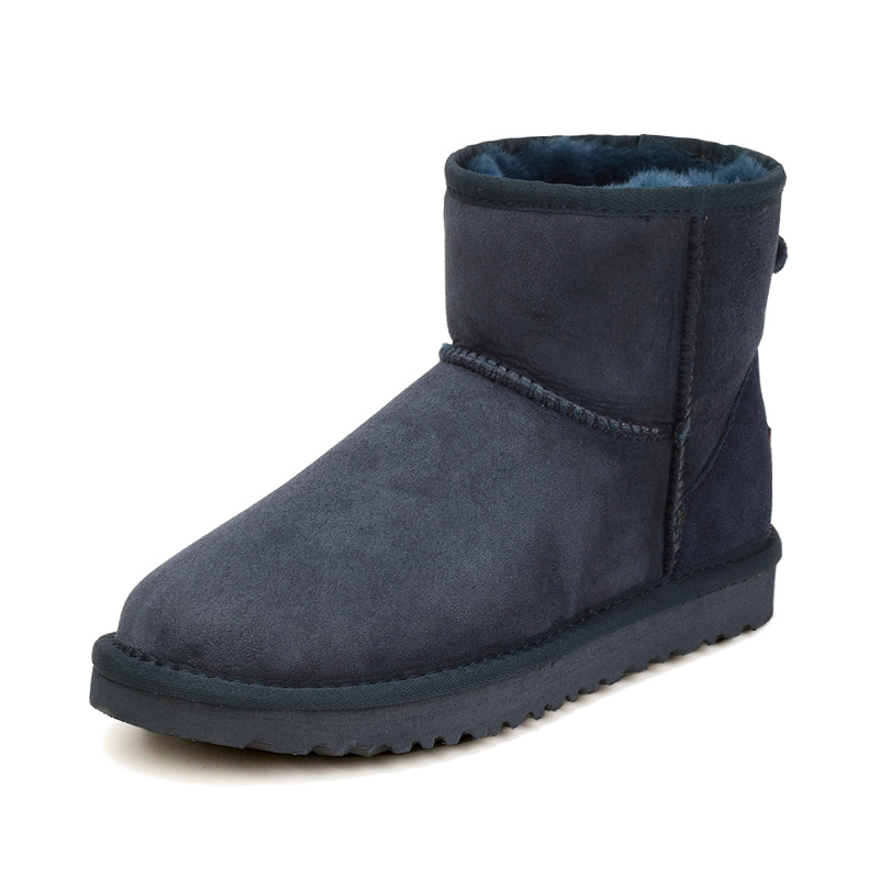 Подробнее о High Quality Hot Sale Women Snow Boots Winter Warm Boots Genuine Sheepskin Leather 100% Natural Fur Women Ankle Boots genuine sheepskin leather snow boots hot sale women100