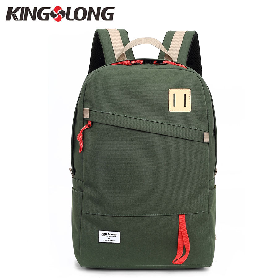 KINGSLONG Women's Backpack Waterproof Nylon Bags 15.6 Inch Laptop Backpack Rucksack Daypacks Backpacks School Bag for Teenagers
