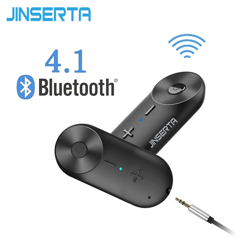 JINSERTA High quality Wireless Bluetooth Adapter Dongle Loop Music Stereo Sound Receiver for iPhone Speaker Amplifier Headphone