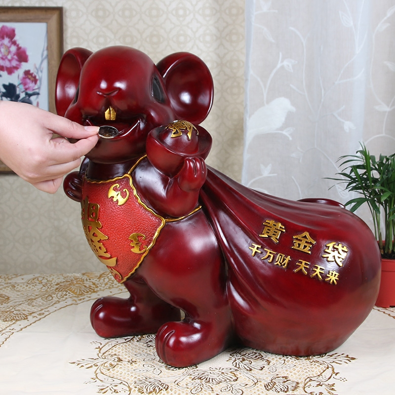 Cute Mouse Piggy Bank Lucky Mouse Money Box Holiday Opening Gift Children s Birthday Gift Home