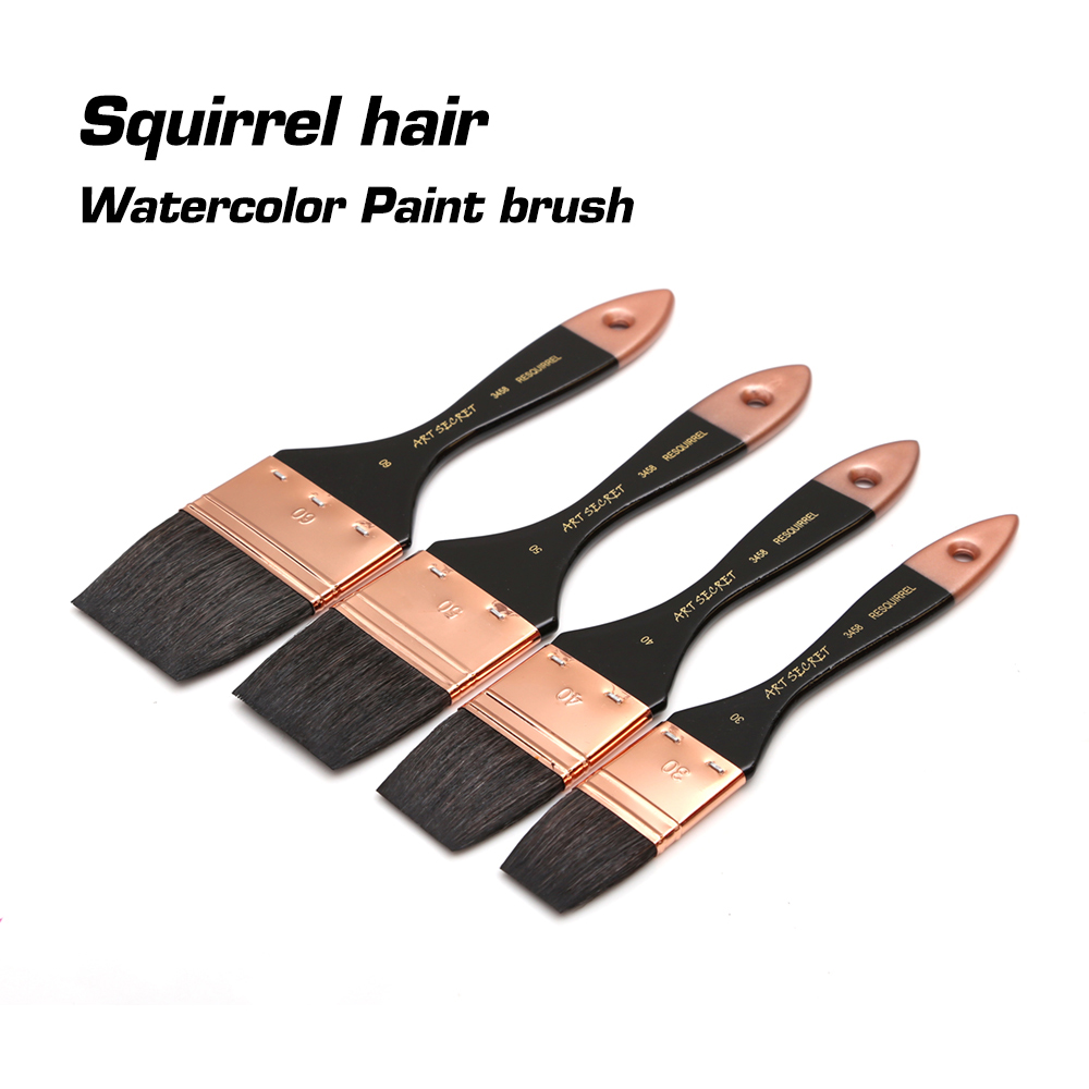 Dainayw Squirrel Hair Round /Flat Head Scrubbing Soft Paint Brush Set Acrylic Painting Brush Oil Paint For Art Supplies original lmp116 projector lamp with housing for eiki lc sxg400 lc sxg400l lc xg400 lc xg400l