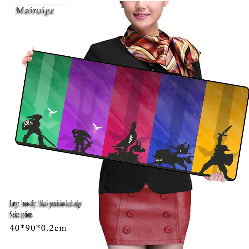 Mairuige Large Lock Edge Mousepad Laptop Mouse Pad Gear Notbook