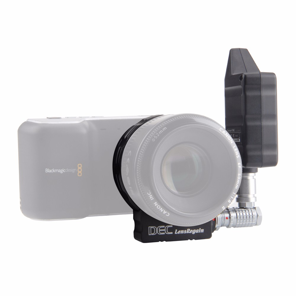 Aputure DEC Lens Regain for MFT Camera 0 75x Focus Reducing Adapter Telecompressor Optic Reducer wireless focus controller in Lens Adapter from Consumer Electronics