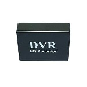 Image 4 - Новый 1CH Мини DVR CVBS запись, 1 канал CCTV монитор Поддержка нескольких режимов записи SD карта записи DVR Черный