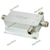 Power Divide 800 2500MHz N 3 Way RF Power Splitter For GSM CDMA DCS 3g Signal