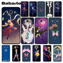 Funda para teléfono Babaite Sailor Moon Coque para samsung j7 2017 j8 j6 j2pro note8 note9 funda coque(China)