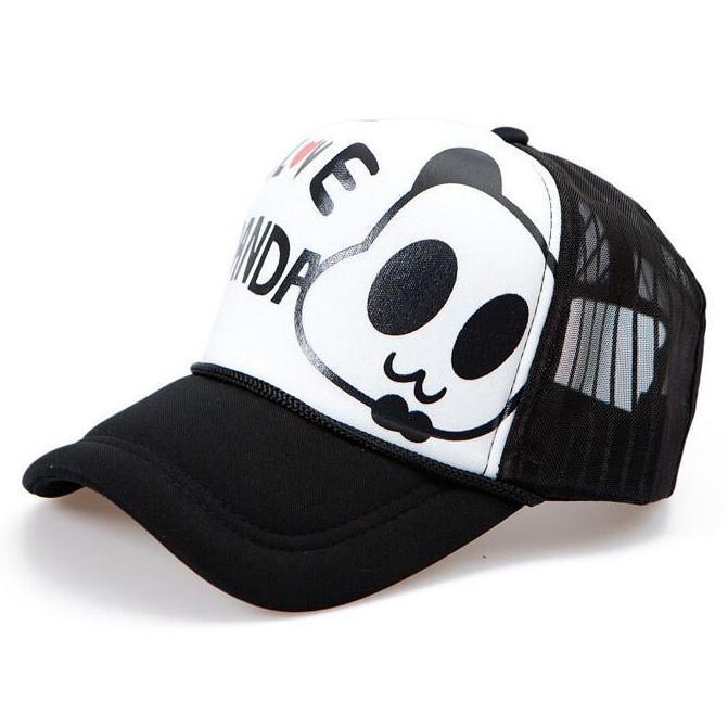 panda bear baseball cap philippines giants hat cute font mesh