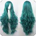 Cosplay Future Mirai Nikki Yuno Gasai Long Curly Wig 32INCH 16Colors