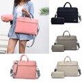 Женская сумка для ноутбука из искусственной кожи  сумка для ноутбука  портфель для Macbook Air 13 3 14 15 6 дюймов  мужские сумки через плечо  сумка для...
