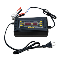 12V 6A LCD Display Smart Quick Charging Battery Charger Car Vehicle Motorhome