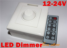Led Dimmer 12V 8A 96W Switch Adjustable Brightness RF Remote&Manual Controller New For single color LEDstrip, such as 5630/5050