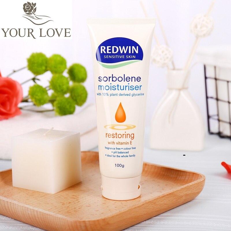 YourLove Australia Redwin Sorbolene VE Face Cream Relieves Dryness Iitching Restore skin elasticity Smooth fine lines