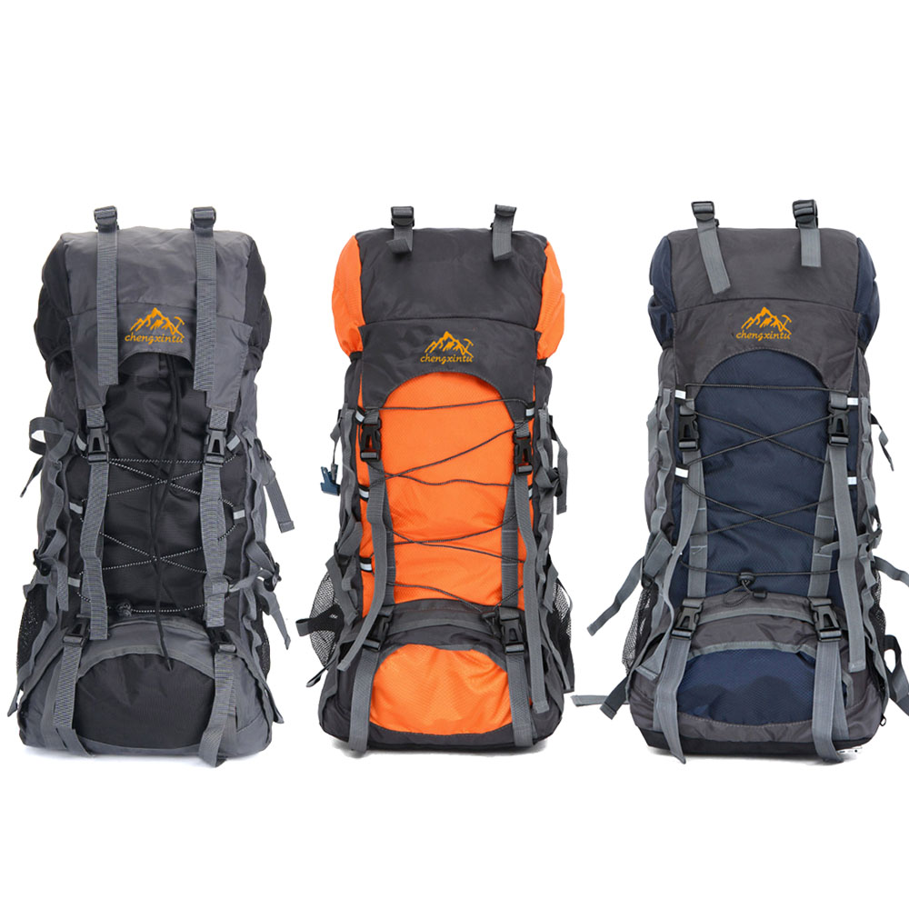 55L Outdoor Bicycle Backpack Hiking Camping Unisex Trekking Bag ...