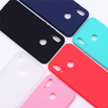 Silicone Case For Huawei P10 Lite Case Soft TPU Back Cover Candy Color Phone Case For Huawei P20 Lite Silicone Case Coque Cover(China)