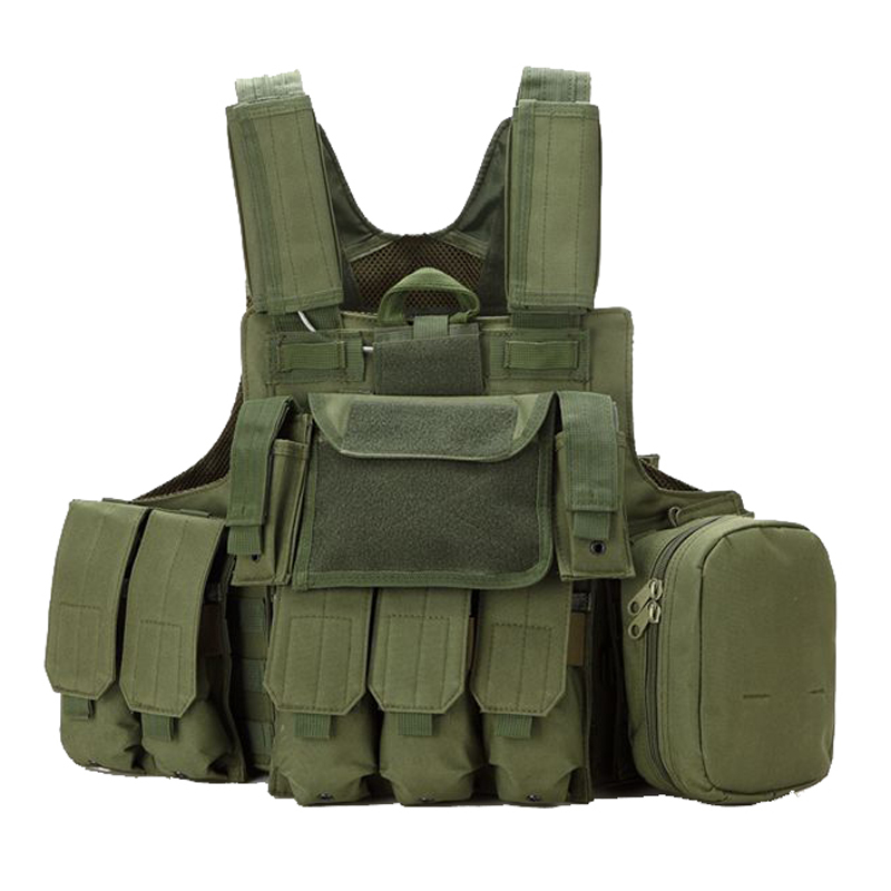 Tactical Molle Combat Carrier 600D Nylon CIRAS HEAVY DUTY ARMOR Vest