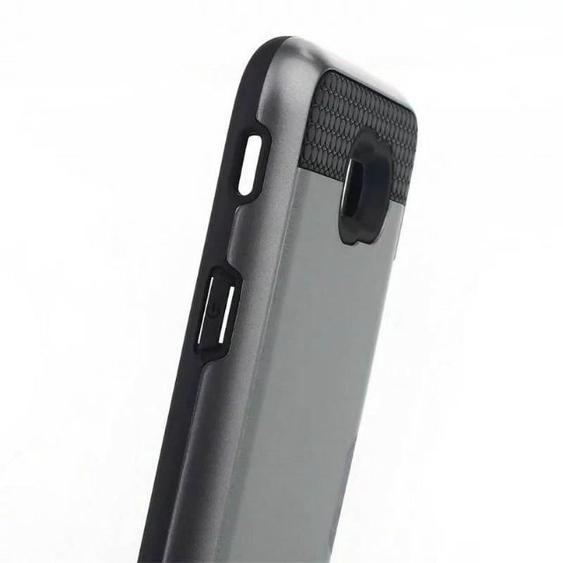 Mobfone Shockproof Cover For Samsung J7 Prime Card Slot PC Silicon 2 in 1 Armor Case For Samusng J5 Prime Capas Fundas