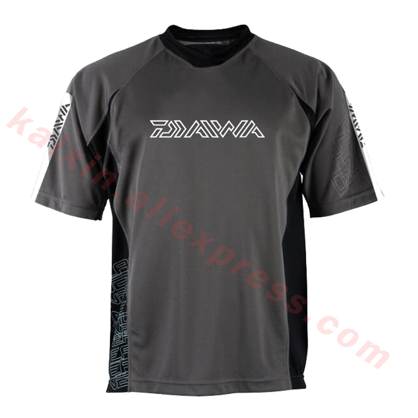 Fishing Clothings 2019 New Style Daiwa Performance Fishing Shirt Men Upf 50 Uv Sun Protection Quick Dry Mesh Cooling Short Sleeve Fishing Clothes