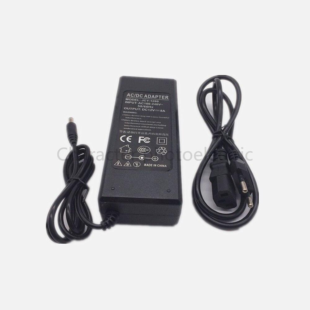 Купить с кэшбэком LED Power Supply DC12V/DC24V led driver 1A 2A 3A 4A 5A 6A 8A 10A  Power Adapter Lighting Transformer for Led Strip Light