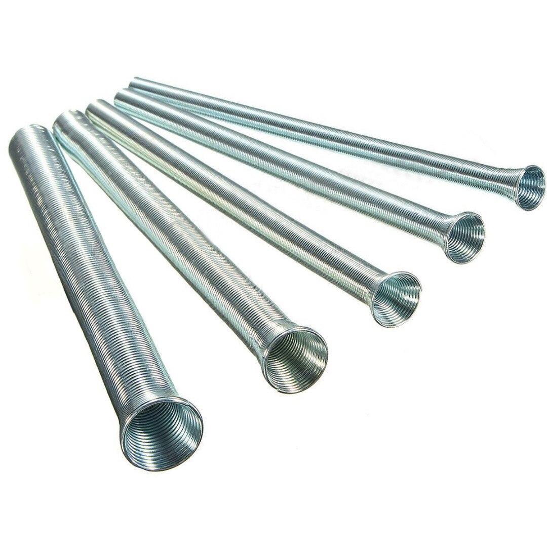 Mayitr 5 pcs CT-102-L Printemps Tube Bender 21 cm Longueur Outil De Cintrage De Tubes 1/4 5/16 3/8 1/2 5/8